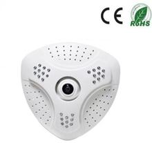 1.3mp 360 degree panorámica IP cámara de la ayuda Wifi Onvif
