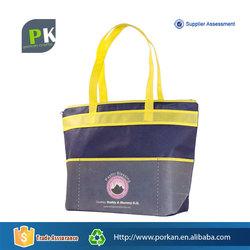 Foldable Nonwoven Zipper Personalized Tote Bag