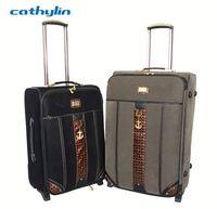 Trolley PU leather luggage case luggage wheels parts