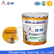 Eco-friendly anti-crack uv resistant exterior wall coating coating paint
