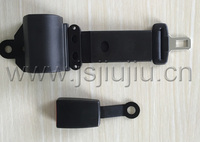 Jiujiu made auto locking two points seat belt with E-Mark ISO/TS 16949:2009