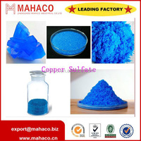 ISO manufacture copper sulphate pentahydrate 96% feed / industrial/fertilizer grade