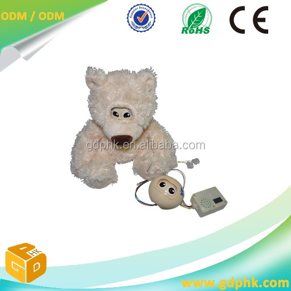 Brinquedo de pelúcia de som programável módulo de som gravável Módulos De Gravação de Voz Brinquedos de Pelúcia chip de som para brinquedos de pelúcia