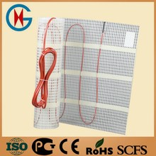 5 square meters 0.5*10m 100W/M2 electric heater cable mat let floor to heated with digital heating floor thermostat