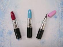 lipstick ball pen/mini lipstick ballpen