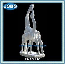 Hand Carved Stone Giraffe Statue 2012