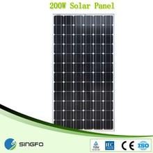200W High efficiency solar Panel