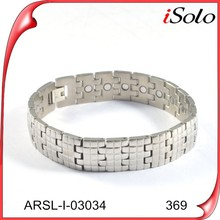 fashion jewelry 2015 elastic magnetic bracelet germanium bracelet