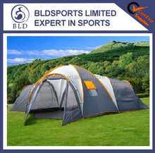 Hot sale and High quality waterproof 8-10man big family camping tent
