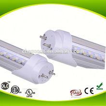 Diameter 26mm 800-1850lm ETL approved led tube t8 lamp 9W 14w 18w 22w resonable options