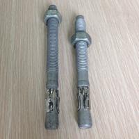 low carbon steel expansion anchor bolt m12 galvanized