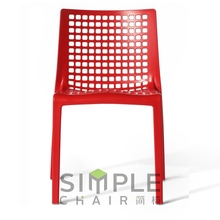 nylon material black color modern dining chair made in china