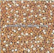 Pas cher décoratif galets de pierre / gravier de couleur pour jardins