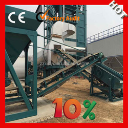 stationary type good service used asphalt mixing plant