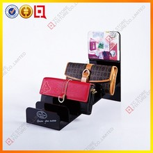8 Floors Black Acrylic Wallet Display Stand