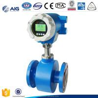 High pressure 42Mpa Intelligent Electromagnetic digital water flow meter