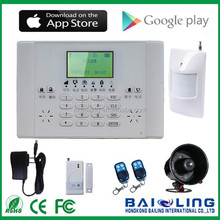 PSTN GSM Home security Alarm System BL6060 fit for Quad-band countries all over the world