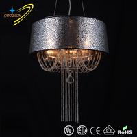 modern low ceiling crystal chandelier high quality ceiling mounted crystal chandelier GZ10004-5P