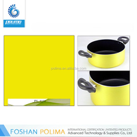 Non-stick Organic silicon coated paint for cookware sets