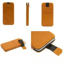 "Hot Sale High Quality Custom Genuine Leather Phone Case for 4.7"" i Phone 6 from Factory Wholesale"