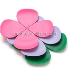 kitchen heat-resistant mat/cup mat/silicon rubber wine glass coaster