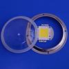 Round 100w 90 degree COB led lens