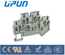 Double-level Phase/ Neutral Terminal Block UJ5-2.5/2-2/L-N