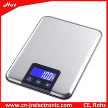 5kg~15kg Top Quality Stainless Steel kitchen utensil Digital weighing Kitchen Scale with Hanger