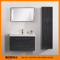 Antique luxury wholesale bathroom furniture with mirror