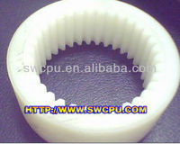 molded ebike/motorcycle/car use white UHMWPE internal gear