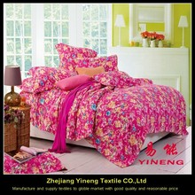 100 printed polyester fabric for bedsheet wholesale