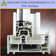 ISO Certificated 60 Series Steel Plastic PVC Extrusion Profile
