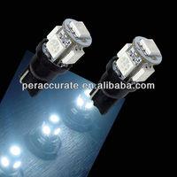 10 Piece 5050 Auto Car Light t10 w5w bulb 5SMD White 1w led light auto tail light PA