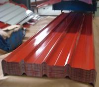 color coated prepainted metal aluminium zinc roofing sheets