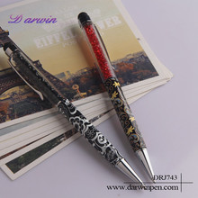 Crystal 2 in 1 Multifunction Stylus Pen For Mobile Phone