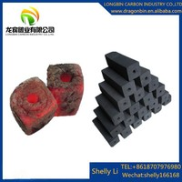 Long burning time 4-5hours barbecue (BBQ) application wood charcol briquette
