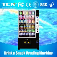 TCN-D720-10 combo drink and snack vending machine for sale