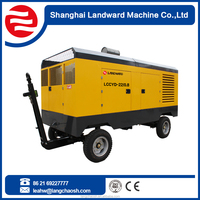 Hiway China Supplier diesel engine portable car air compresso