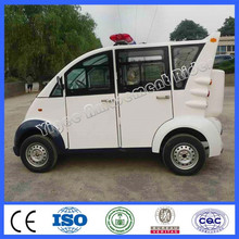 China electric car cheap 5 seats closed iron shell cruiser car