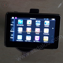 800MHZ HD 4.3 inch auto gps naviagtion with wifi function free map for different countries