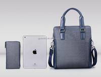 Genuine leather men tote bag for business,men business bag