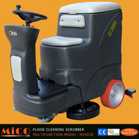 Electric Power Ride-on Type Floor Cleaning Sweeper
