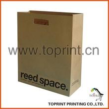 decorate brown paper bag Kraft Paper bags with Handles
