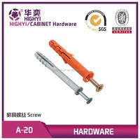 Expansion anchor/PLASTIC SCREWS/nylon screw plug