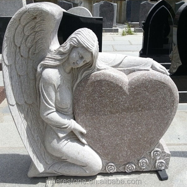 Cheap granite G664 heart shape tombstone (2).jpg