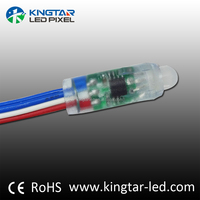 Alibaba 12mm strawhat ws2811 pixel led node