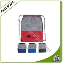 Drawstring Mesh Bag Stuff Sack for Gym Sports School Books Hiking