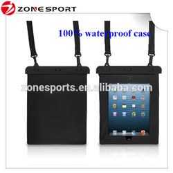 2016 high quality waterproof leather case for ipad mini,waterproof bag for ipad