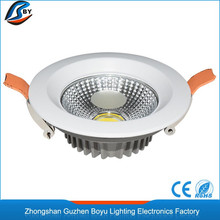 Ultra bright recessed adjustable ic rated recessed commercial smd led downlight