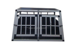RIAMX Double Indoor Outdoor Large Steel dog kennels pet cage